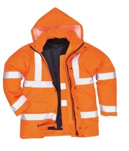 Portwest s468 Jól láthatósági 4 1-ben kabát naracs f0be91ff69