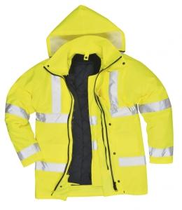 Portwest s468 Jól láthatósági 4 1-ben kabát sárga c1d0648396