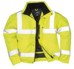 Portwest S463 Jól láthatósági sárga bomber dzseki fdf396462b